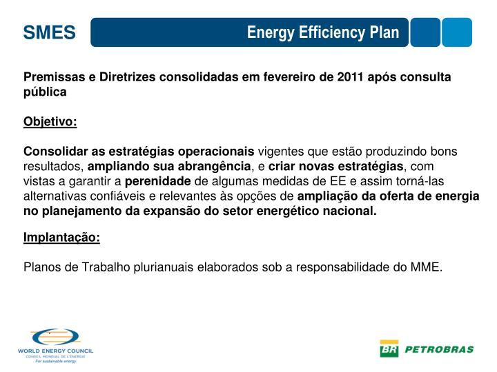 Energy Efficiency Plan
