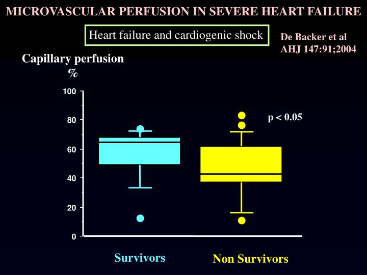 MICROVASCULAR PERFUSION IN SEVERE HEART FAILURE