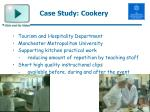 case study cookery