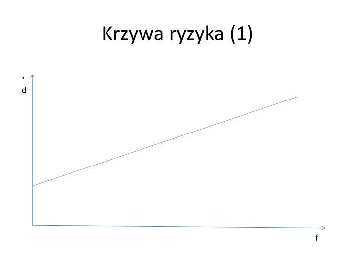 Krzywa ryzyka (1)