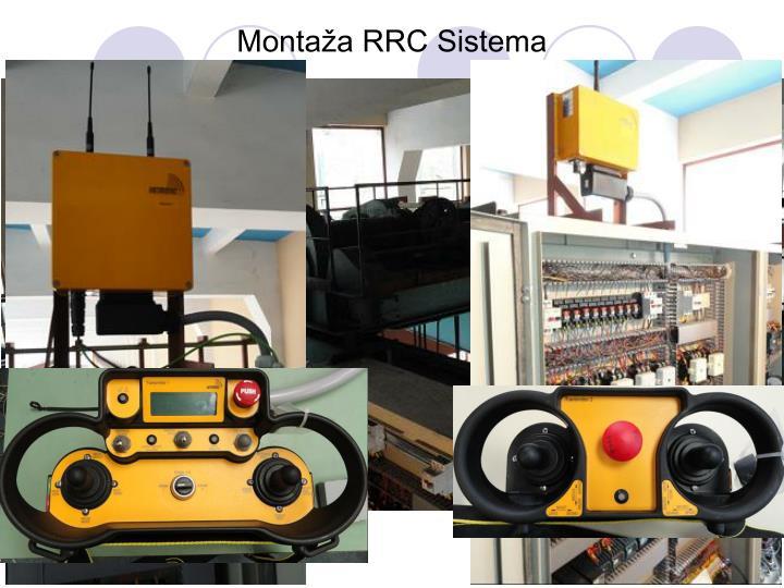 Montaža RRC Sistema