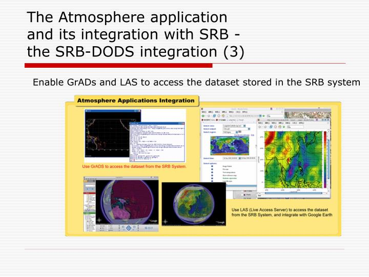 The Atmosphere application