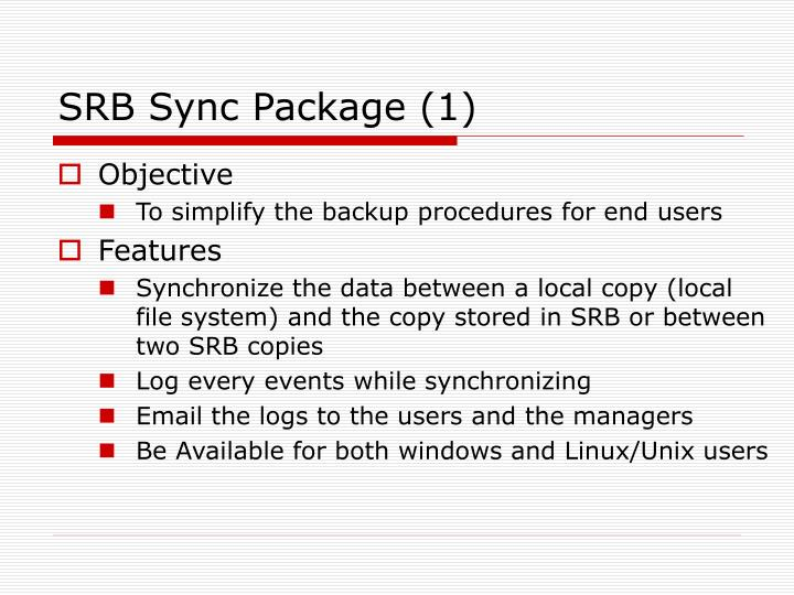 SRB Sync Package (1)