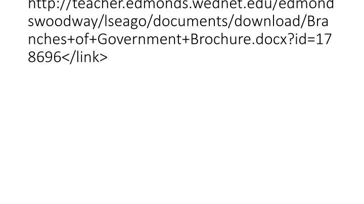 http://teacher.edmonds.wednet.edu/edmondswoodway/lseago/documents/download/Branches+of+Government+Brochure.docx?id=178696</link>