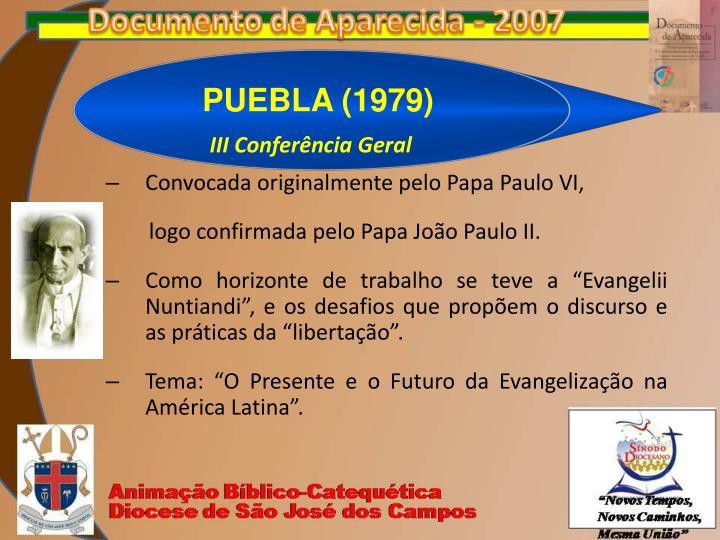 PUEBLA (1979)