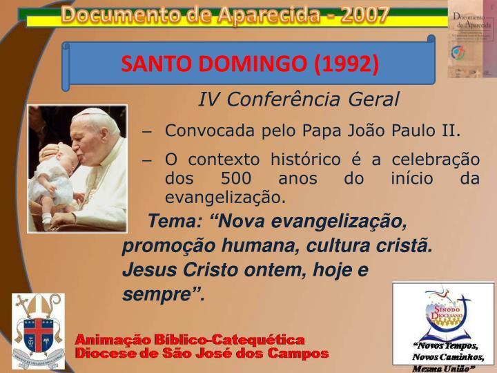 SANTO DOMINGO (1992)