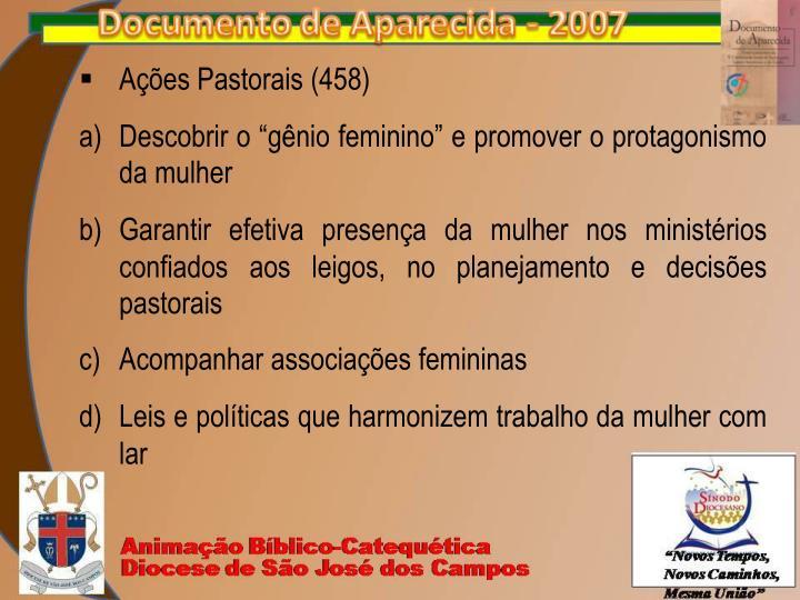 Ações Pastorais (458)