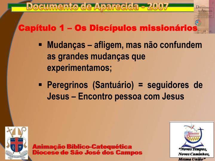 Capítulo 1 – Os Discípulos missionários