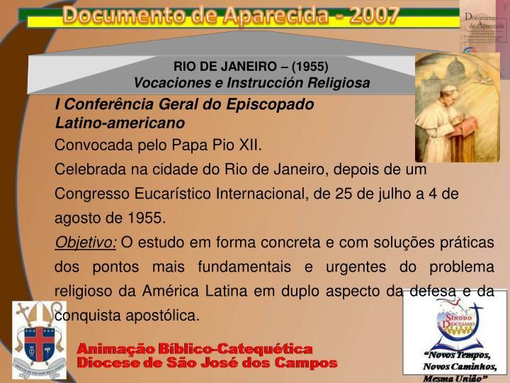 RIO DE JANEIRO – (1955)