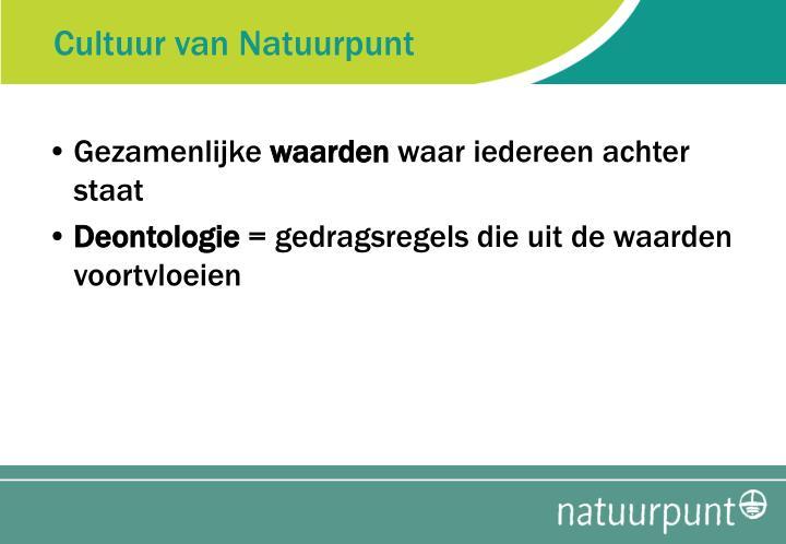 Cultuur van Natuurpunt