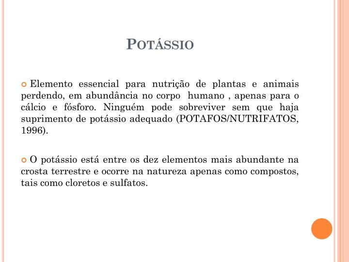Potssio