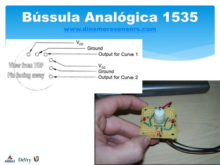 Bússula Analógica 1535