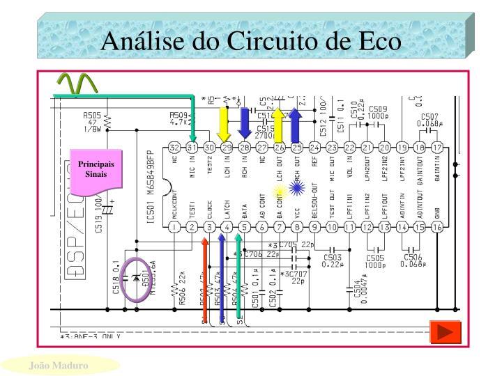 Análise do Circuito de Eco