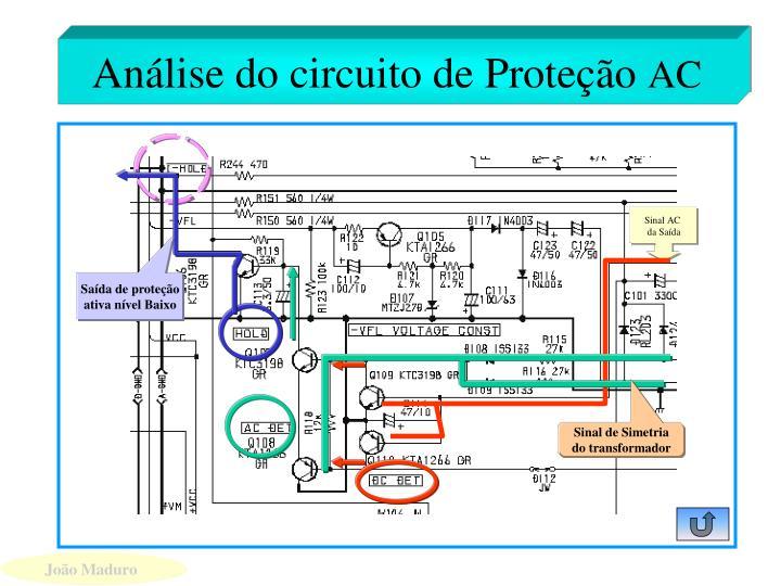 Análise do circuito de Proteção