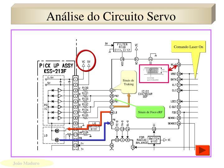 Análise do Circuito Servo