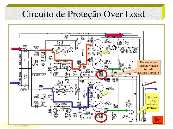 Circuito de Proteção Over Load