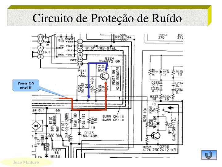Circuito de Proteção de Ruído