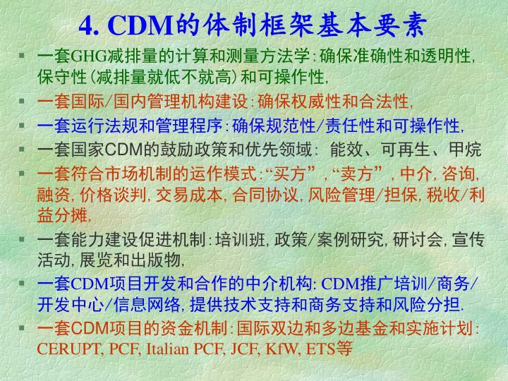 4. CDM
