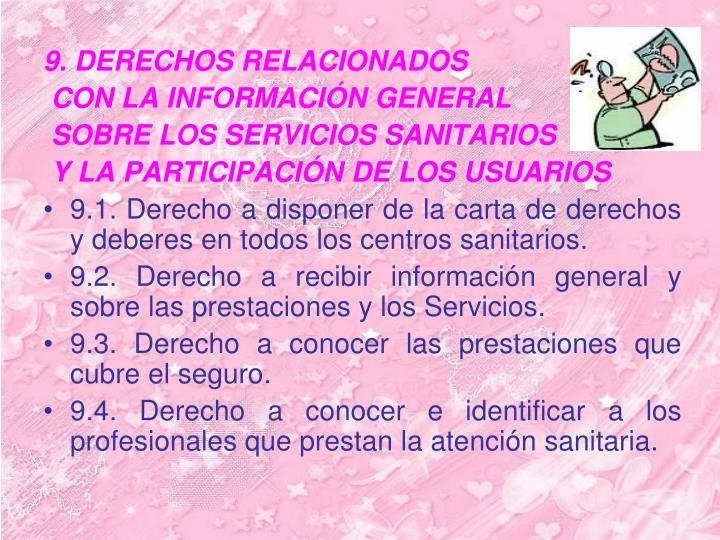 9. DERECHOS RELACIONADOS
