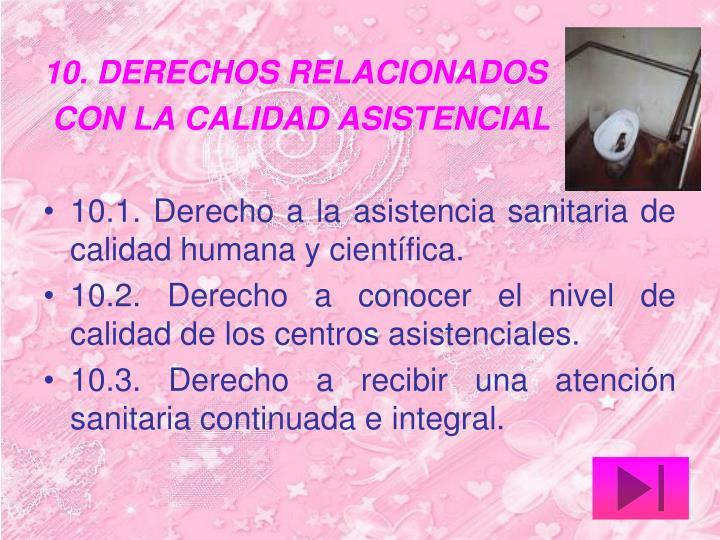 10. DERECHOS RELACIONADOS