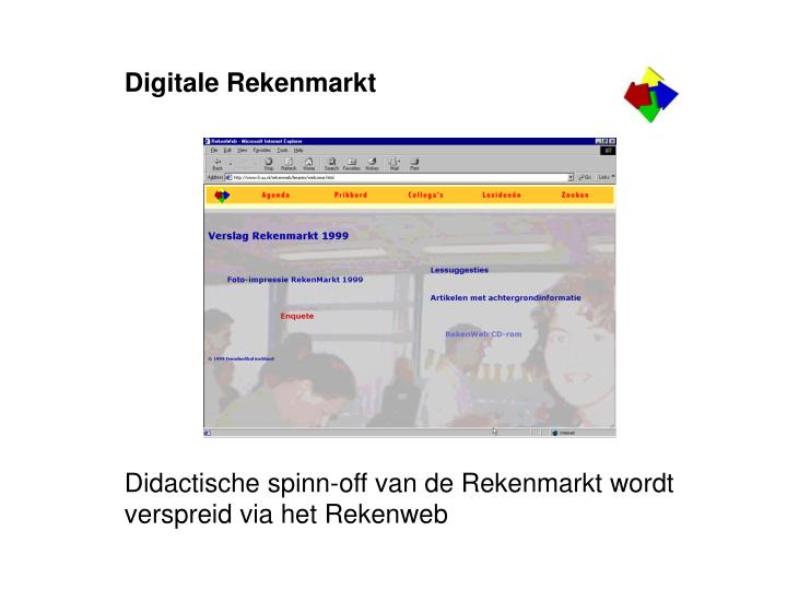 Digitale Rekenmarkt