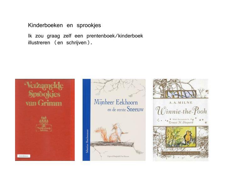 Kinderboeken en sprookjes