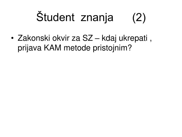 Študent  znanja      (2)