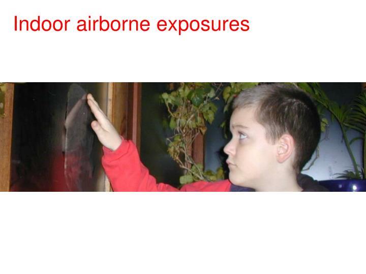 Indoor airborne exposures
