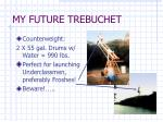 my future trebuchet