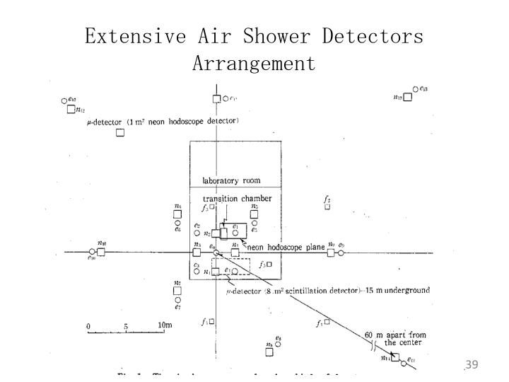 Extensive Air Shower Detectors Arrangement