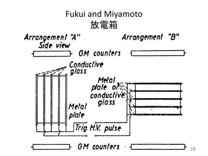 Fukui and Miyamoto