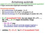 armstrong axi m k