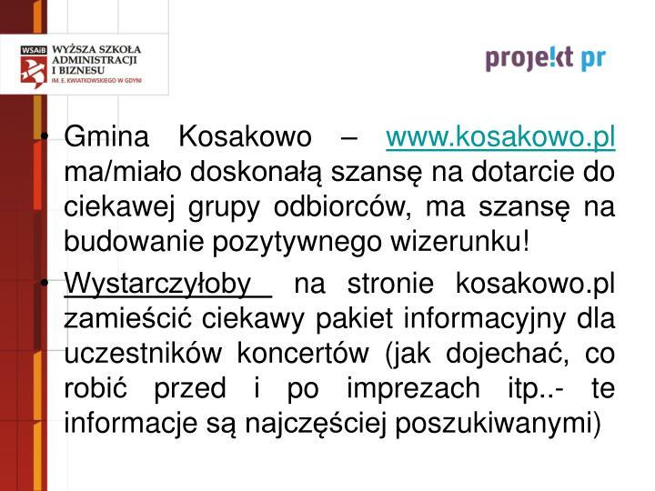 Gmina Kosakowo –