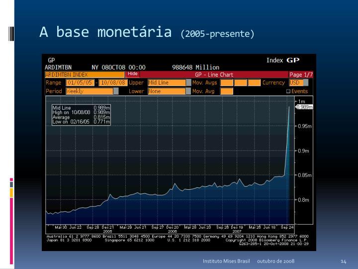 A base monetária