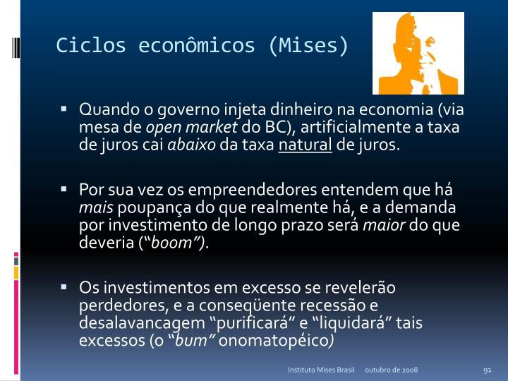 Ciclos econômicos (Mises)