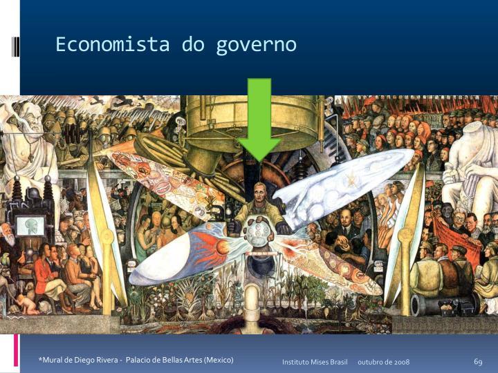 Economista do governo