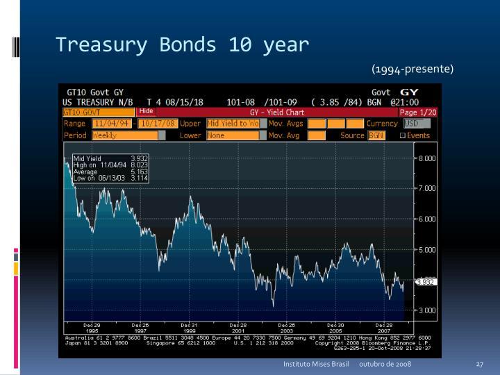 Treasury Bonds 10 year