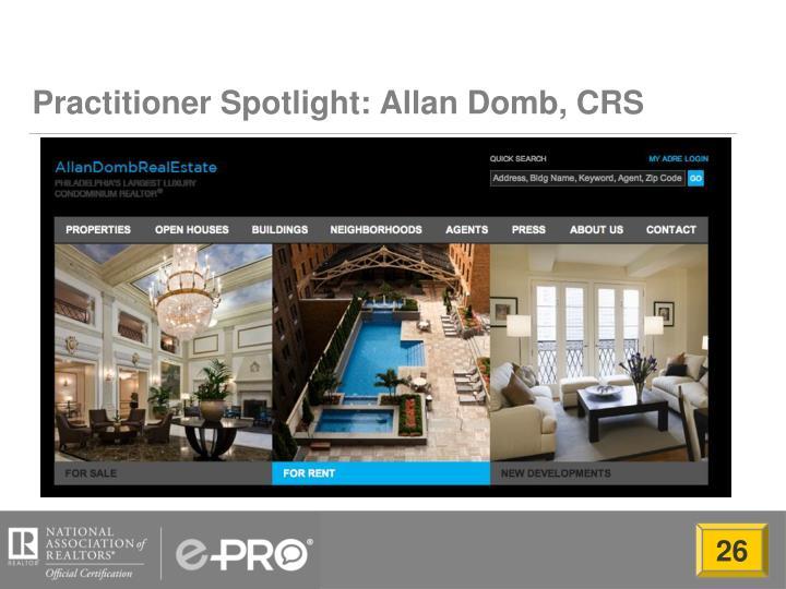 Practitioner Spotlight: Allan Domb, CRS