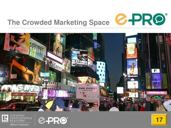 The Crowded Marketing Space