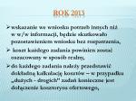 rok 20133
