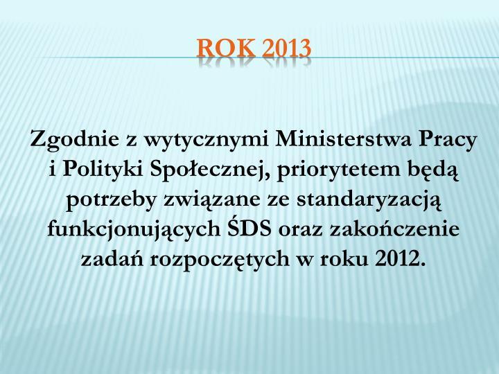 Zgodnie z wytycznymi Ministerstwa Pracy