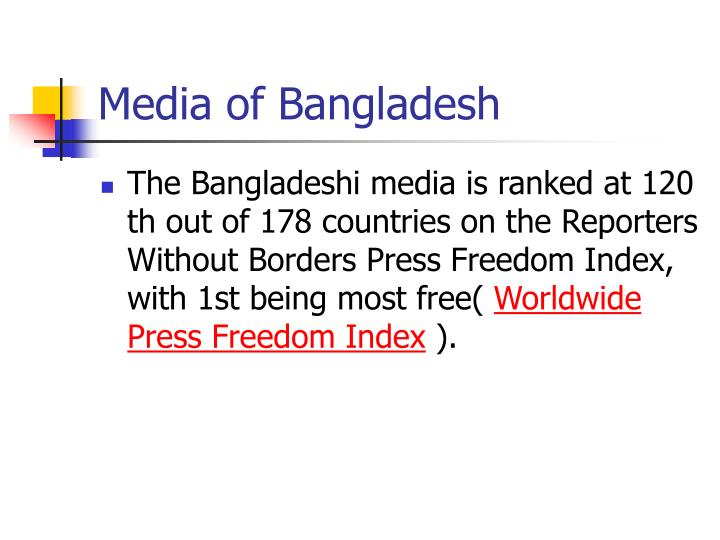Media of Bangladesh