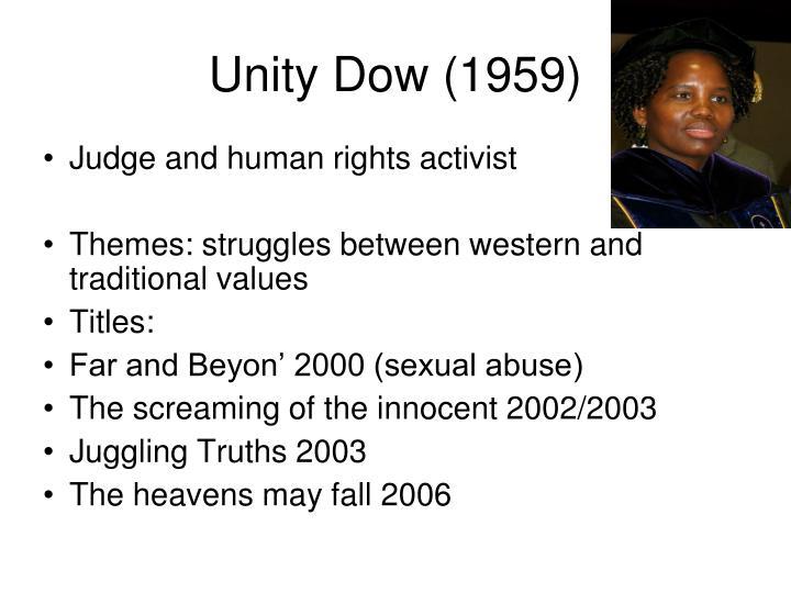 Unity Dow (1959)