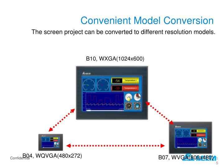 Convenient Model Conversion