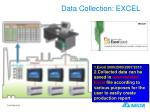 data collection excel
