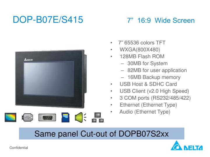 DOP-B07E/S415