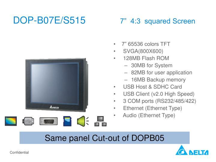 DOP-B07E/S515