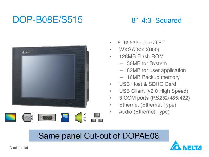 DOP-B08E/S515