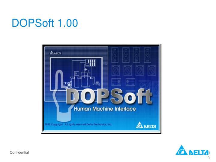 DOPSoft 1.00
