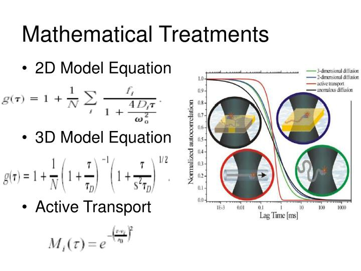 Mathematical Treatments